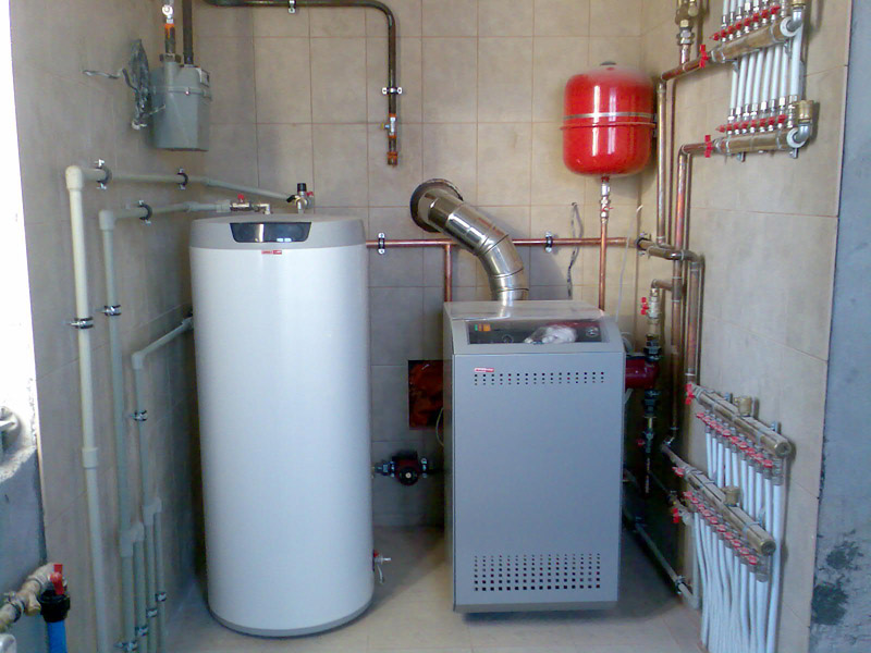 Двухконтурный котел отопления частного дома