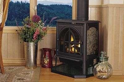 Камин как отопление дома