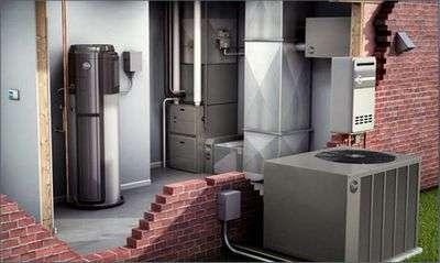 Совмещение воздушного отопления и вентиляционной системы